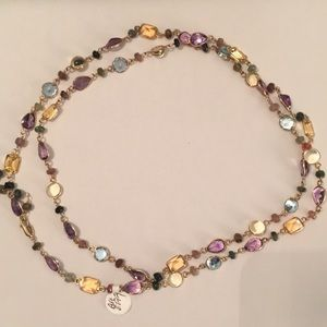 Effy Multi Gemstone Mosaic Necklace